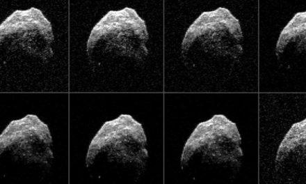 Totenkopf-Asteroid nähert sich um Halloween der Erde