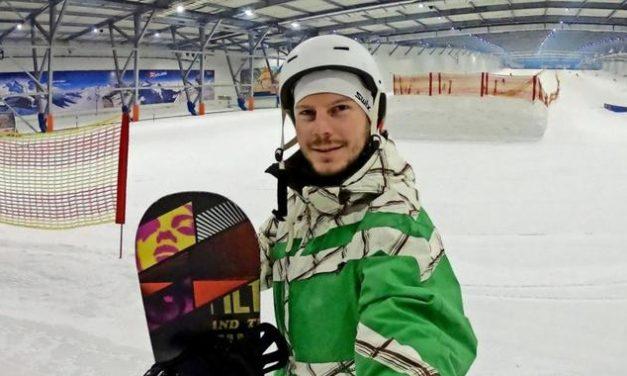 Paralympics-Gewinner steigt jetzt auch aufs Snowboard