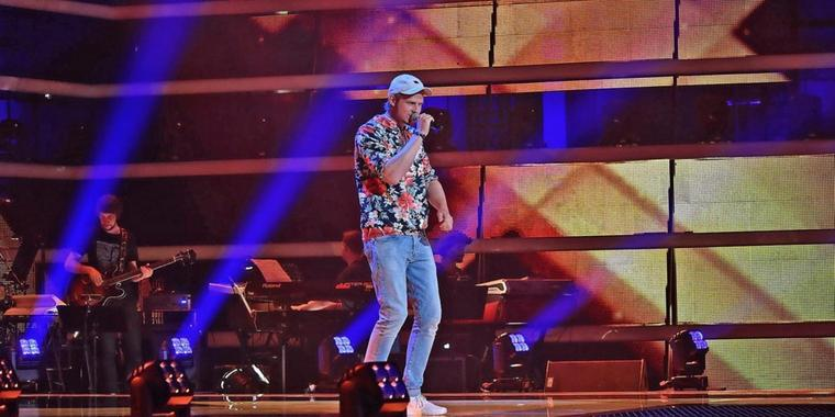 "Dominik Hartz tritt bei ""The Voice of Germany"" an"