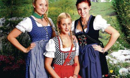 Oktoberfest in Stadthagen: Wo gehört die Schleife hin?