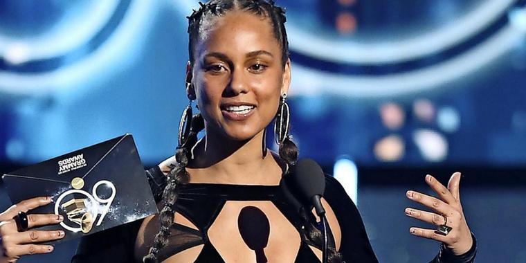 Alicia Keys moderiert die Grammy-Verleihung