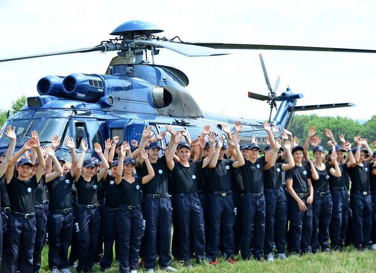 Bundespolizei lockt mit Panther Challenge