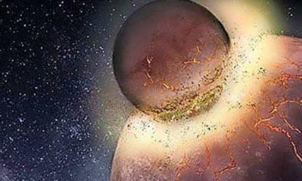 Gigantische Planetenkollision könnte Elemente des Lebens geliefert haben