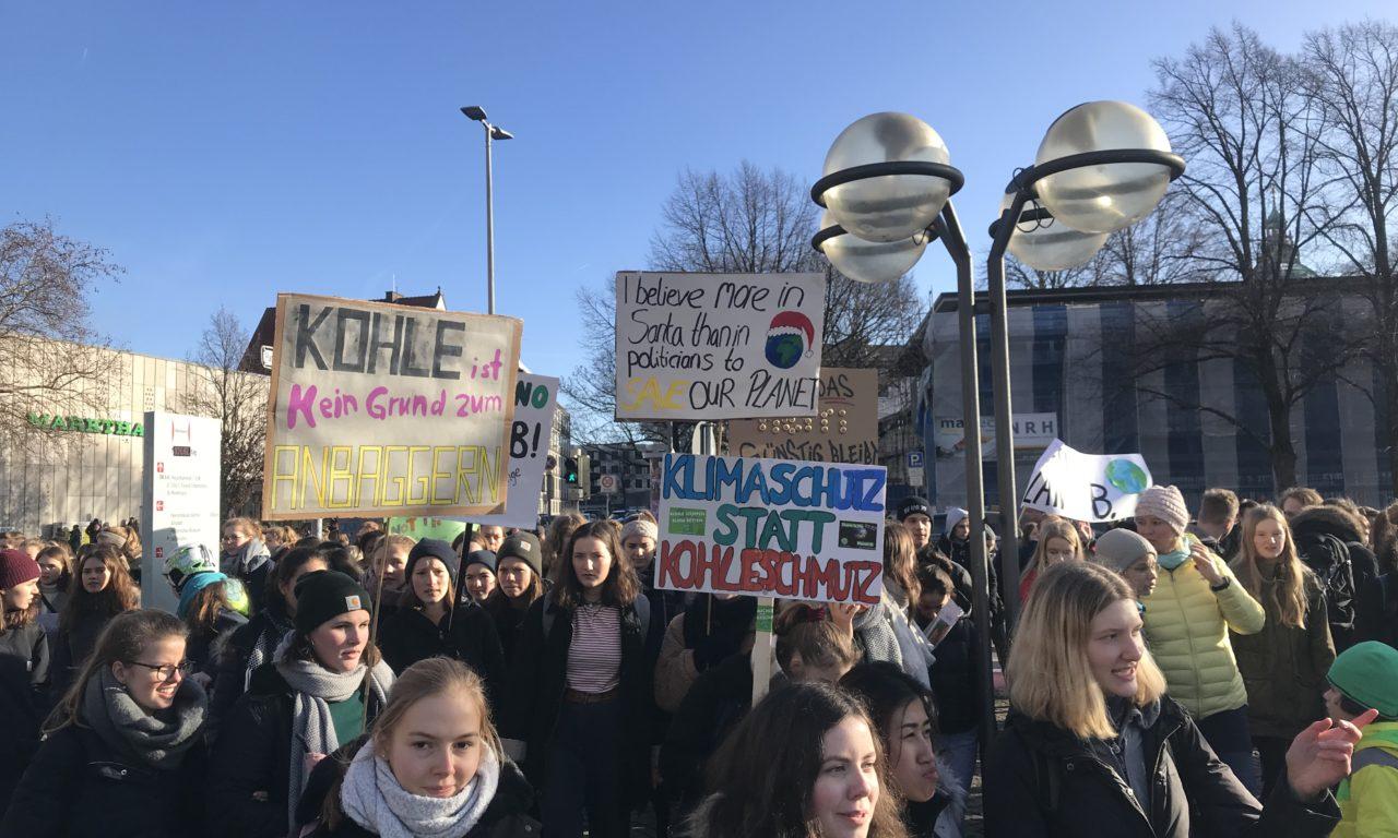 #FridaysForFuture: Auch Hannover streikt fürs Klima