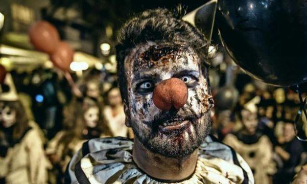 Als Zombie verkleidete Männer drehen Film – und werden verhaftet