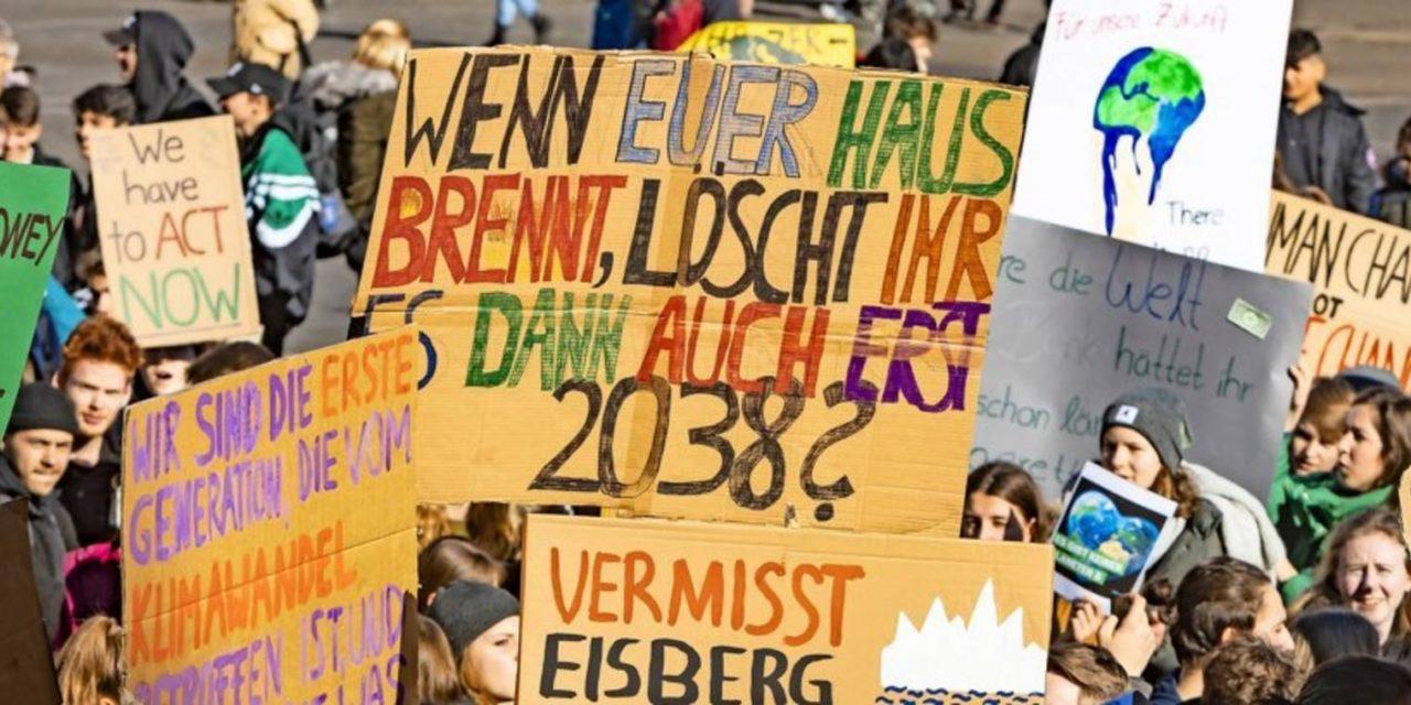 12.000 Wissenschaftler unterstützen Klima-Streiks der Schüler
