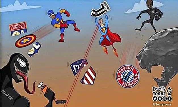 So macht sich @footytoonz über europäischen Fußball lustig