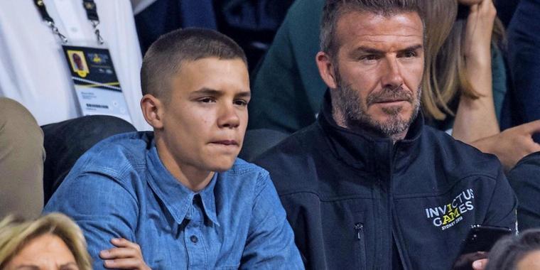 "Beckham-Sohn (16) liebt Serien-Star aus ""Stranger Things"""