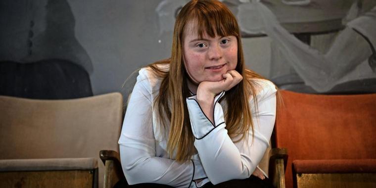 """Luisa Wöllisch hat das Down-Syndrom – und wird in """"Die Goldfische"""" zum Kinostar"""
