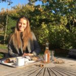 Johanna liebt dasUni-Leben in Uppsala