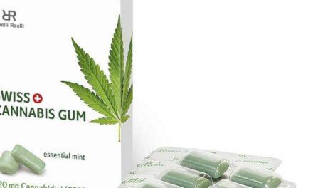 Polizei beschlagnahmt Cannabis-Kaugummis von dm