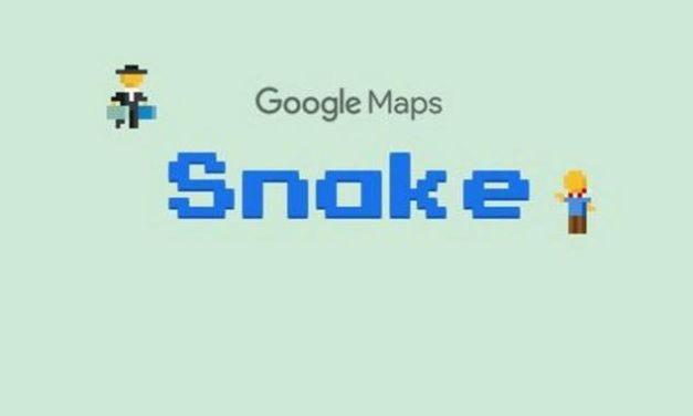 """Zum 1. April: """"Snake"""" auf Google Maps spielen"""