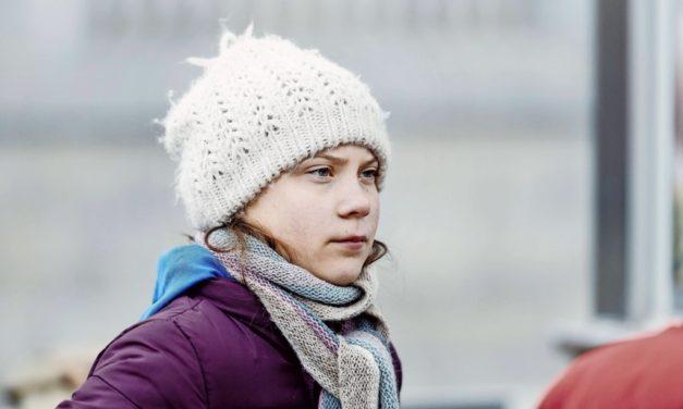 """Greta Thunberg hat es auf das Cover des """"Time""""-Magazins geschafft"""