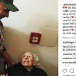 Rührendes Foto: Pietro Lombardi trifft seinen ältesten Fan (93)