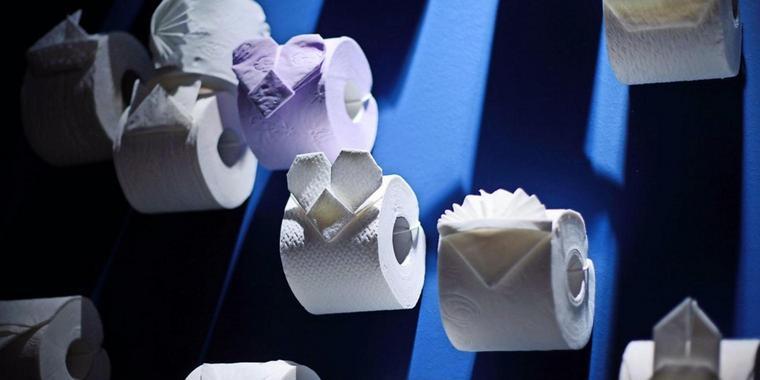 Toilettenpapier zu Rosen geformt: Einbrecher räumt Haus auf