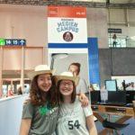 Marlene auf der IdeenExpo: Keine Langeweile mit dem Strandhut