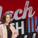 Hunderte Fans stehen Schlange für Rewinside und Jodie Calussi