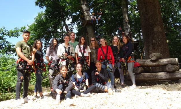 Gewinnerklasse: Schüler verbringen Tag in Kletterpark Sea Tree
