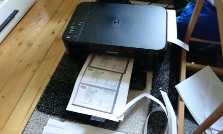 20-Jährige druckt Zuhause 15.000 Euro aus – und will damit Auto kaufen