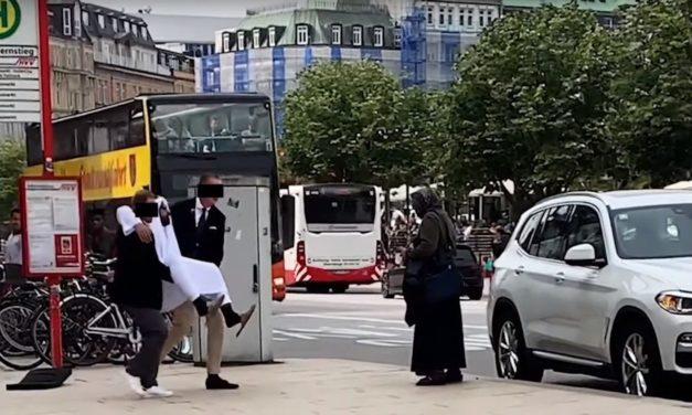 Unfassbares Video: Falscher Scheich narrt Hamburger Luxuskaufhaus