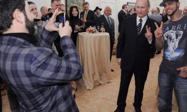 Rapper brechen mit Putin-Lobeshymne Negativrekord auf Youtube