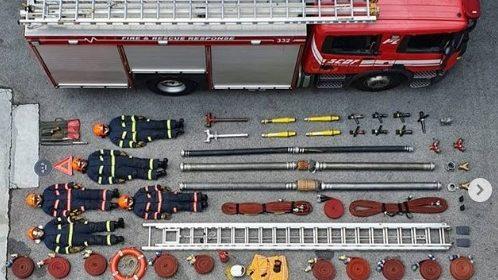 Tetrischallenge: Was ist eigentlich alles in einem Feuerwehrwagen?