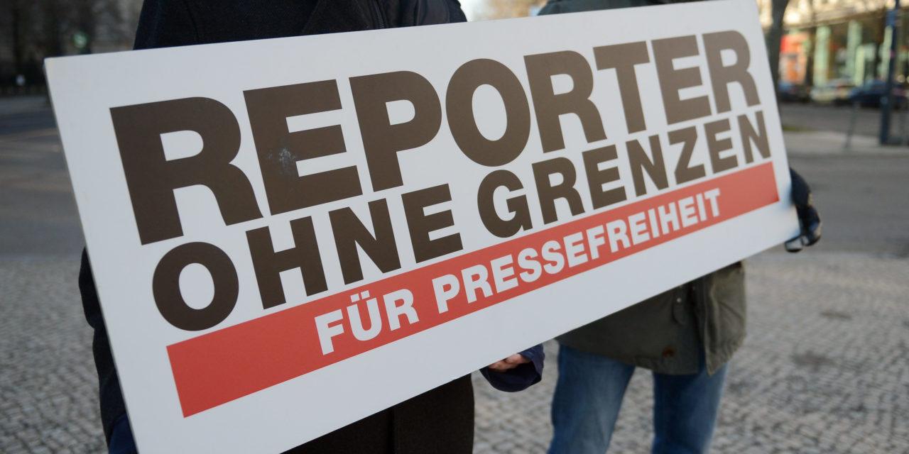 Reporter ohne Grenzen rufen Merkel dazu auf, Freilassung inhaftierter Journalisten zu fordern