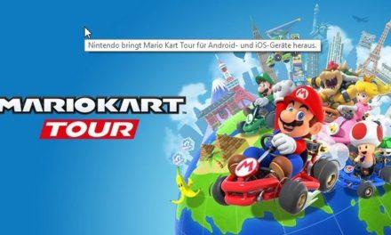 """""""Mario Kart Tour"""": Nintendo veröffentlicht Spiele-Klassiker für Android und iOS"""