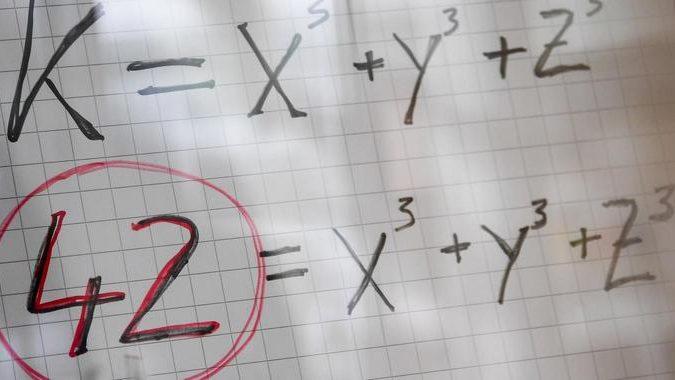 Wissenschaftler lösen ein uraltes Matherätsel um die Zahl 42