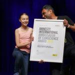 Amnesty International verleiht Menschenrechtspreis an Greta Thunberg