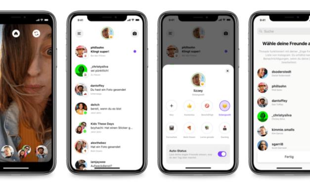 Threads – Facebook startet Messaging-App für enge Freunde