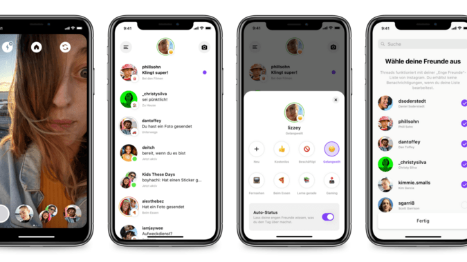 Threads – Facebook startet Messaging-App für enge Freunde
