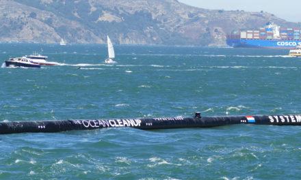 """Nach Rückschlag: """"Ocean Cleanup"""" sammelt ersten Plastikmüll im Pazifik"""