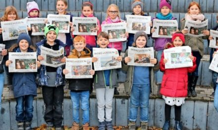 Broderstorf: Schülerzeitung von Drittklässern