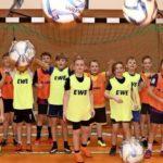 EWE-Cup: Binzer Fußballnachwuchs trainiert fürs Finale in Strausberg