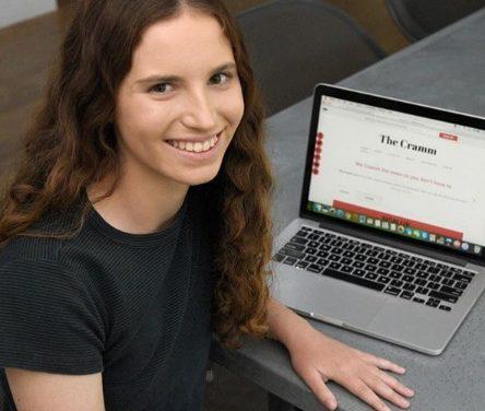 Nachrichten für Jugendliche: Diese 15-Jährige verschickt täglich ihren weltweiten Newsletter