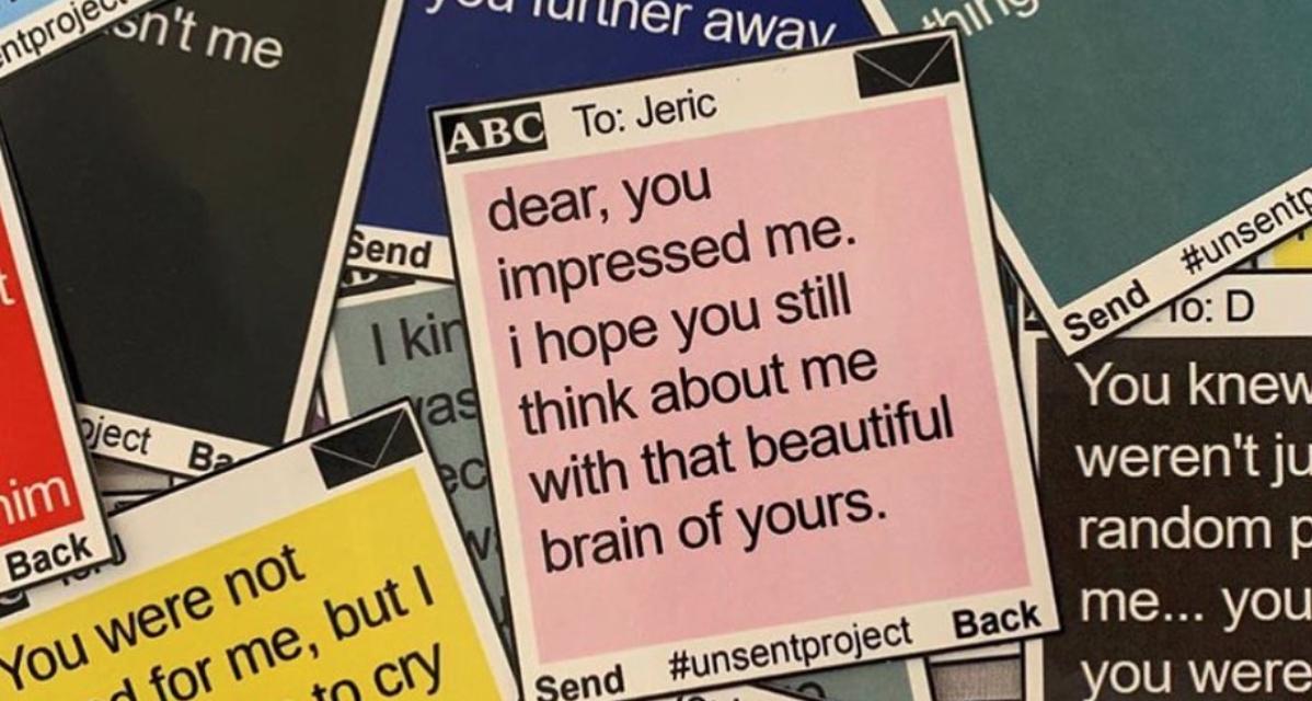 Letzte Nachricht an die erste Liebe: The Unsent Project macht es möglich
