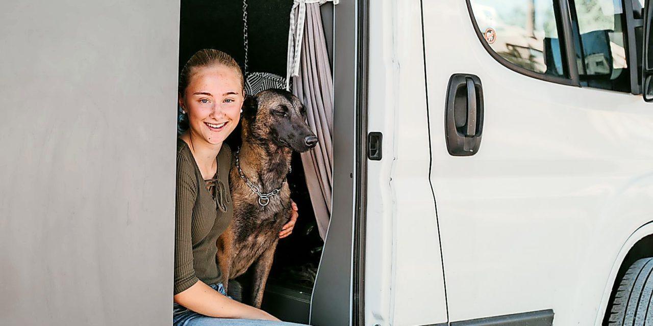 """Neele lebt in einem Van: """"Ich habe mich in diesen Lifestyle verliebt"""""""