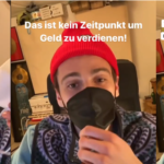 Youtuber Fynn Kliemann verkauft jetzt Mundschutze