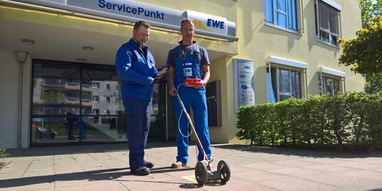 Mit dem Spürgerät unterwegs auf Rügen