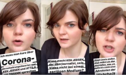 Corona-Verschwörungstheorien: Sophie Passmann platzt auf Instagram der Kragen