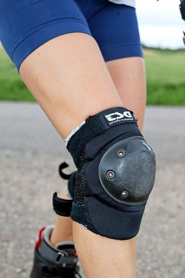 Protektoren verhindern vor allem bei Skatern die schlimmsten Verletzungen.