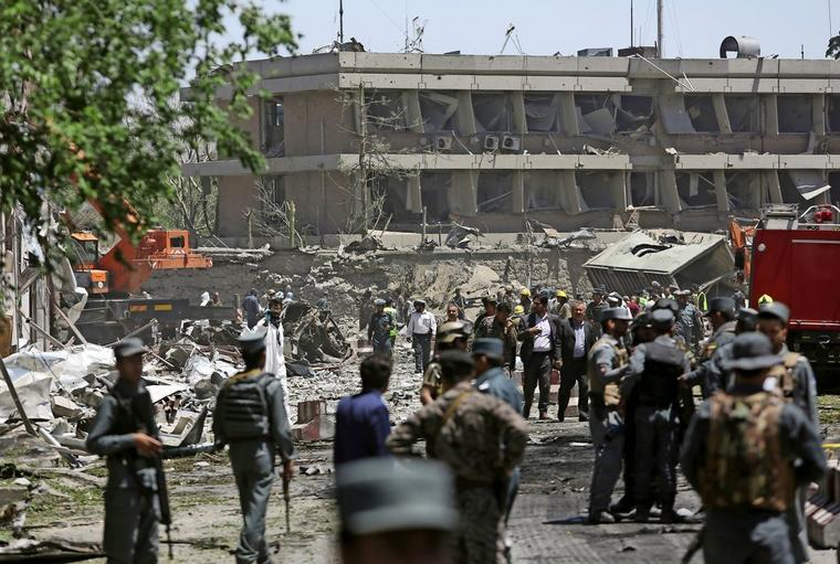 Mai 2017: Autobombenanschlag nahe der deutschen Botschaft in Kabul