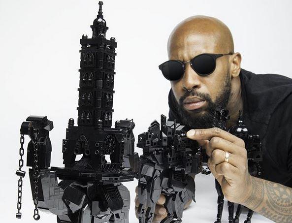 Gar nicht kindisch: Schwarze Steinwelten aus Lego von @ekownimako