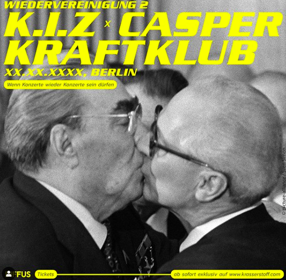 K.I.Z., Casper und Kraftklub laden zu Konzert: Benefizshow nach einer Stunde ausverkauft