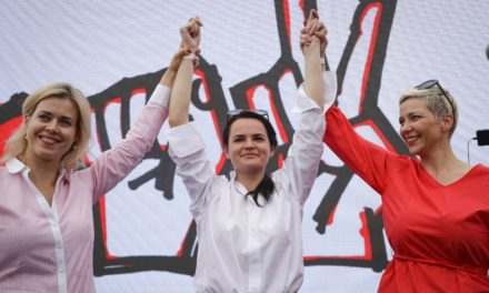 Wahlkampf in Belarus: drei Frauen gegen den Autokraten