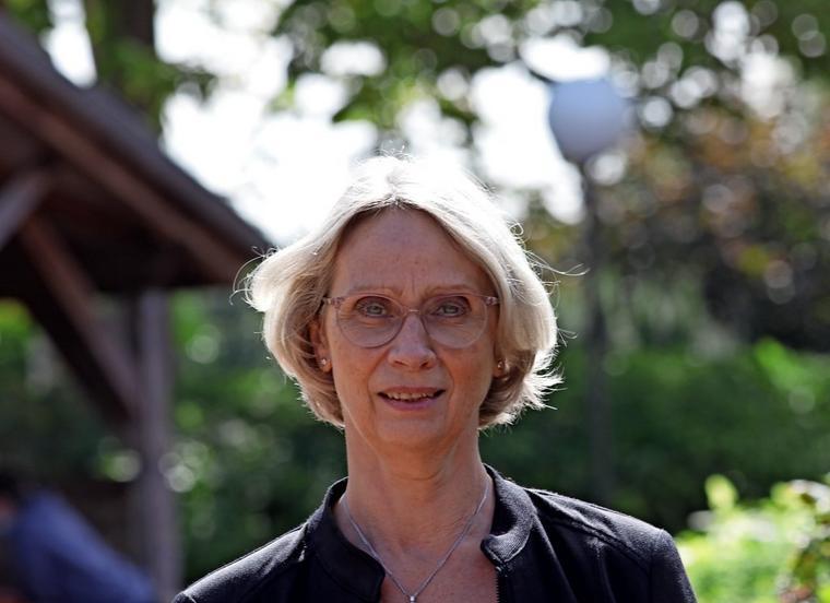 """Schulleiterin Elsbeth Rinast sagt: """"Ich spüre schon, dass ich mehr Verantwortung habe."""""""