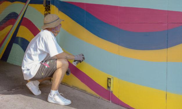 Streetart-Künstler Ata sprüht weltweit Gemälde an Wände