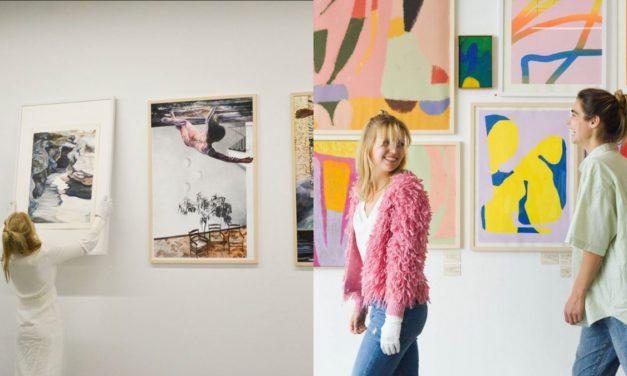 Echte Kunst von jungen Menschen: @kunst100 ist eine Onlinegalerie mit Gesprächen über Kunst