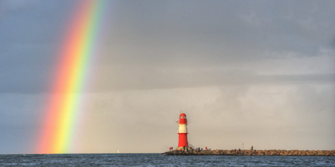 Farbige Magie: der Regenbogen